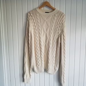 J Crew Outfitters Cable Knit Sweater